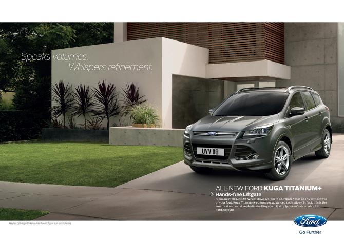 Ford Kuga Print Ads Nigel Edginton Vigus Creative Director